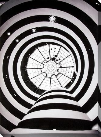 Guggenheim Spirals Canvas