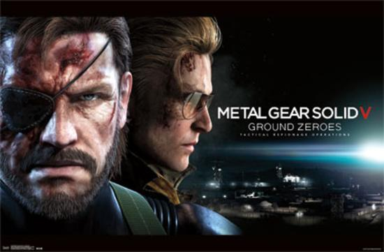 Metal Gear Solid V Ground Zeroes Big Boss
