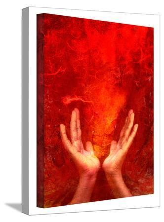 Chakra Fire gallery-wrapped canvas