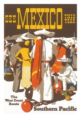 See Mexico This Year - Southern Pacific Railroad - The West Coast Route