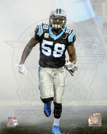 Thomas Davis Carolina Panthers 2013 Action
