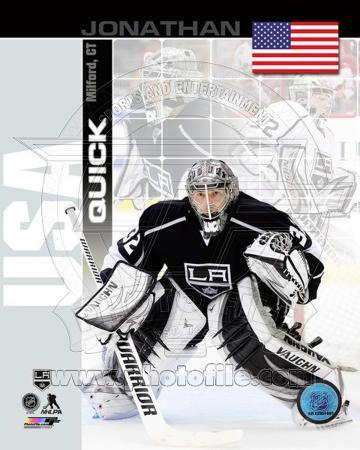 Los Angeles Kings Jonathan Quick - USA Portrait Plus