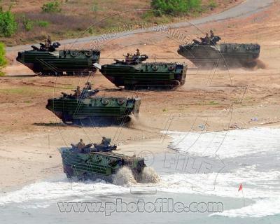 Assault Amphibious Vehicles (AAV) United States Marine Corps