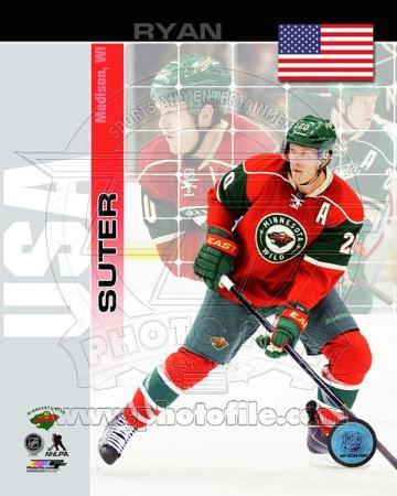 Minnesota Wild Ryan Suter - USA Portrait Plus