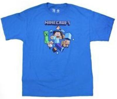 Youth: Minecraft - Run Away! Turquoise