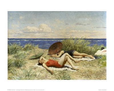 Sunbathing on the Dunes