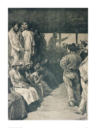 Slave Auction in the U.S.A