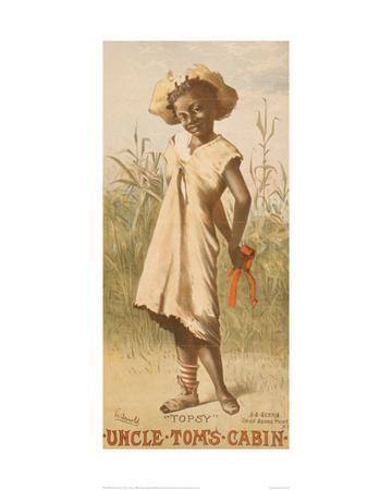 Uncle Tom's Cabin, Topsy, 1886