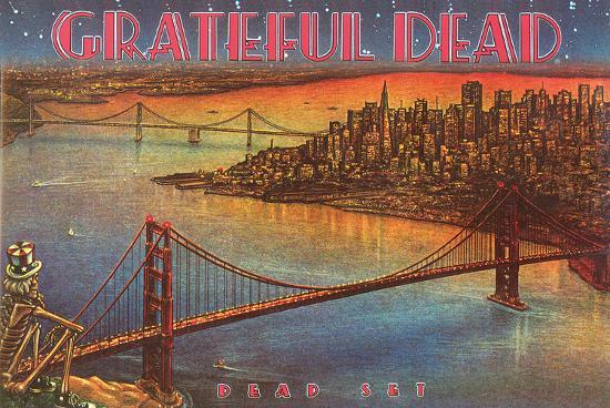 Grateful Dead Dead Set Print At Allposters Com