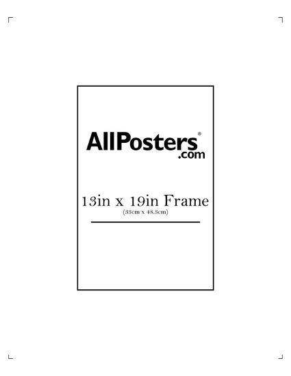 13\'\' x 19\'\' Frame Ready Made Frame at AllPosters.com