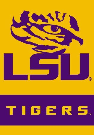 NCAA Louisiana State Tigers 2-Sided House Divided Banner with Pole Sleeve