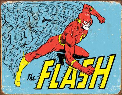 The Flash - Retro Tin Sign