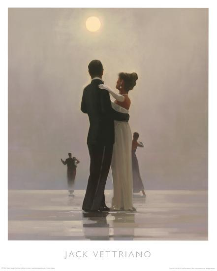 Dance Me To The End Of Love Posters By Jack Vettriano At