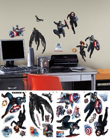 Captain America 2 Wall Decal