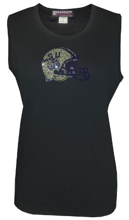 Juniors: Tank Top - LSU Tigers - Crystal Embellished Logo