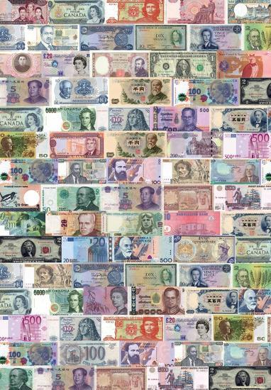 Banconote World Currency Posters