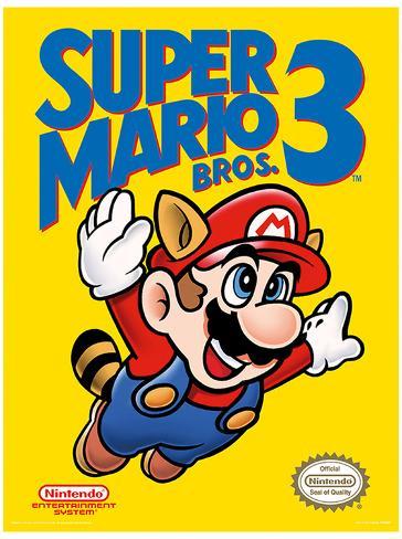 sc 1 st  AllPosters.com & Super Mario Bros. 3 - NES Cover Posters at AllPosters.com