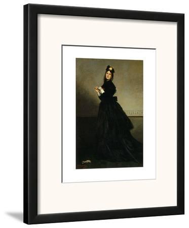 Lady with a Glove, Madame Carolus-Duran nee Pauline Croizette, c.1869