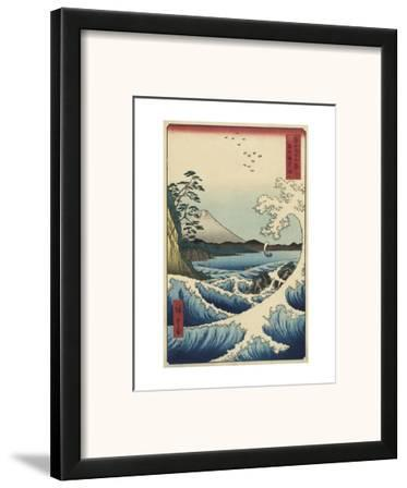 The Sea off Satta in Suruga Province (Suruga Satta kaij?), 1858