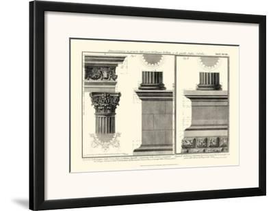 Cornice Tempio di Vesta