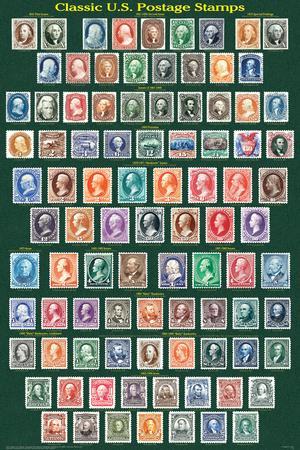 Classic U.S. Postage Stamps