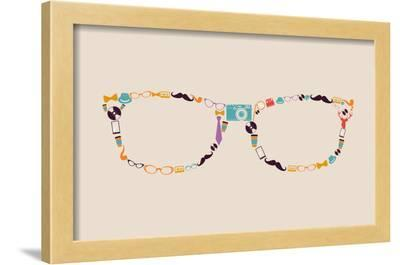 Vintage Hipster Icon Glasses