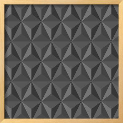 Gray Abstract Geometric Pattern