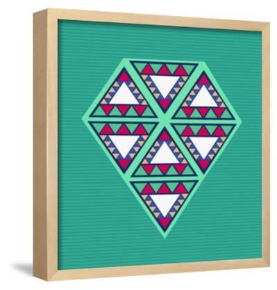 Geometric Diamond Composition