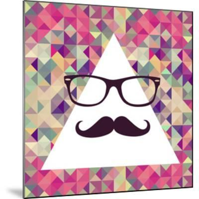 Geometric Hipster Face