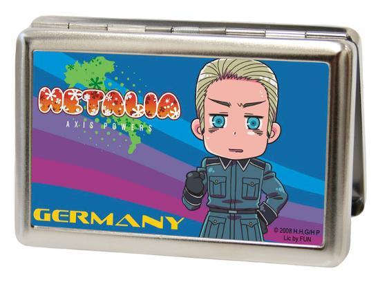 Hetalia Germany Chibi Large Business Card Holder Novelty At