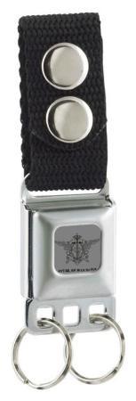 Black Butler - Symbol Seatbelt Buckle Keychain