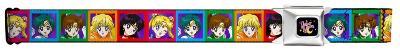 Sailor Moon - Characters Seatbelt Belt