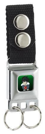 "Death Note - Chibi ""L"" Seatbelt Buckle Keychain"