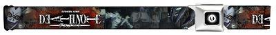 Death Note - L, Light & Ryuk Collage Seatbelt Belt