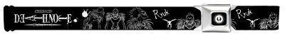 Death Note - Ryuk SketchSeatbelt Belt