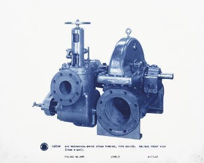 Mechanical Cyanotype I