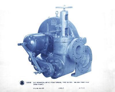 Mechanical Cyanotype III