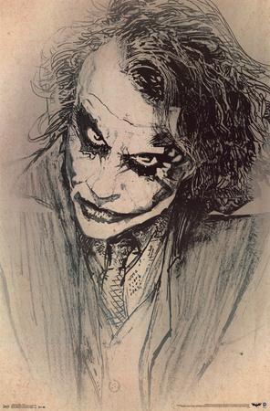 Dark Knight - Sketch