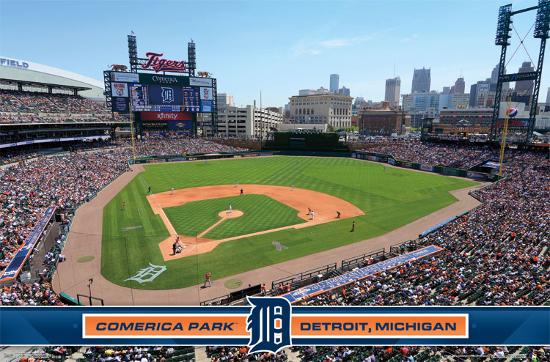 Detroit Tigers Comerica Park 14 Posters At Allposters Com