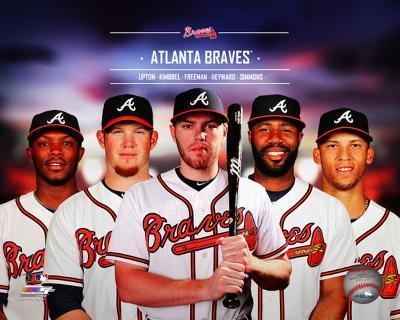 Atlanta Braves 2014 Team Composite