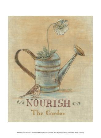 Garden Series in Linen I