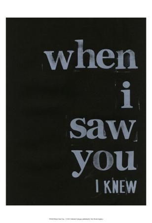 When I Saw You... I