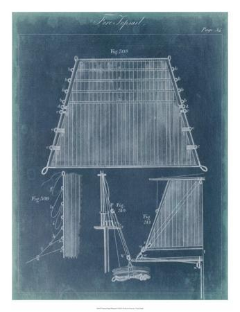 Nautical Detail Blueprint I