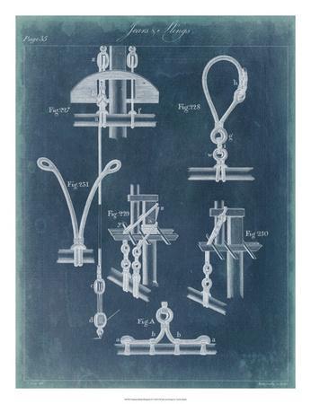 Nautical Detail Blueprint IV