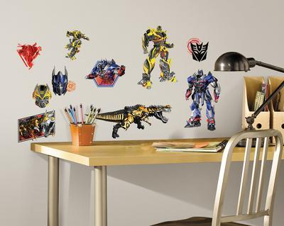 Transformers: Age of Extinction Peel and Stick Wall Decals