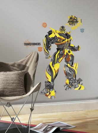 Transformers: Age of Extinction Bumblebee Peel and Stick Giant Wall Decals