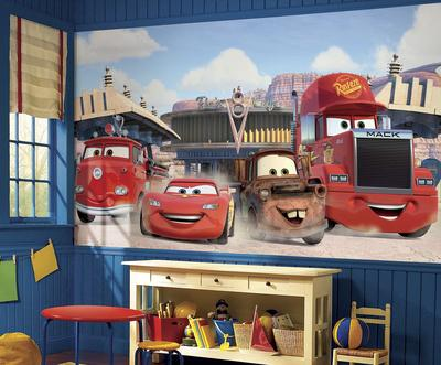 Disney Cars - Friends to the Finish Prepasted Mural