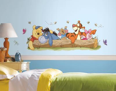 Winnie the Pooh - Outdoor Fun Peel and Stick Giant Wall Decals