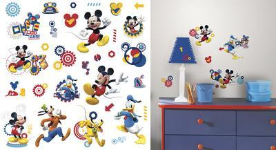 Mickey & Friends - Mickey Mouse Clubhouse Capers Peel and Stick Wall Decals