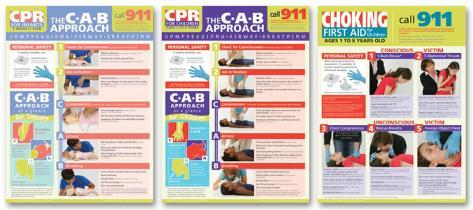 photo regarding Free Printable Choking Poster named Childrens Initially Assist Poster Fixed -3